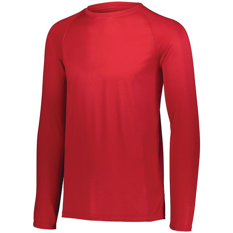 Product image of RED Augusta 2796 - YOUTH ATTAIN WICKING LS SHIRT