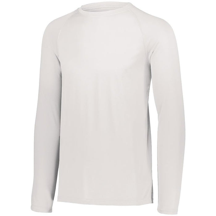 Product image of WHITE Augusta 2796 - YOUTH ATTAIN WICKING LS SHIRT