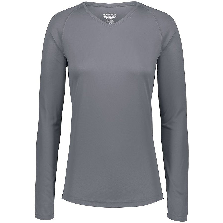 Product image of GRAPHITE Augusta 2797 - LADIES ATTAIN WICKING LS SHIRT