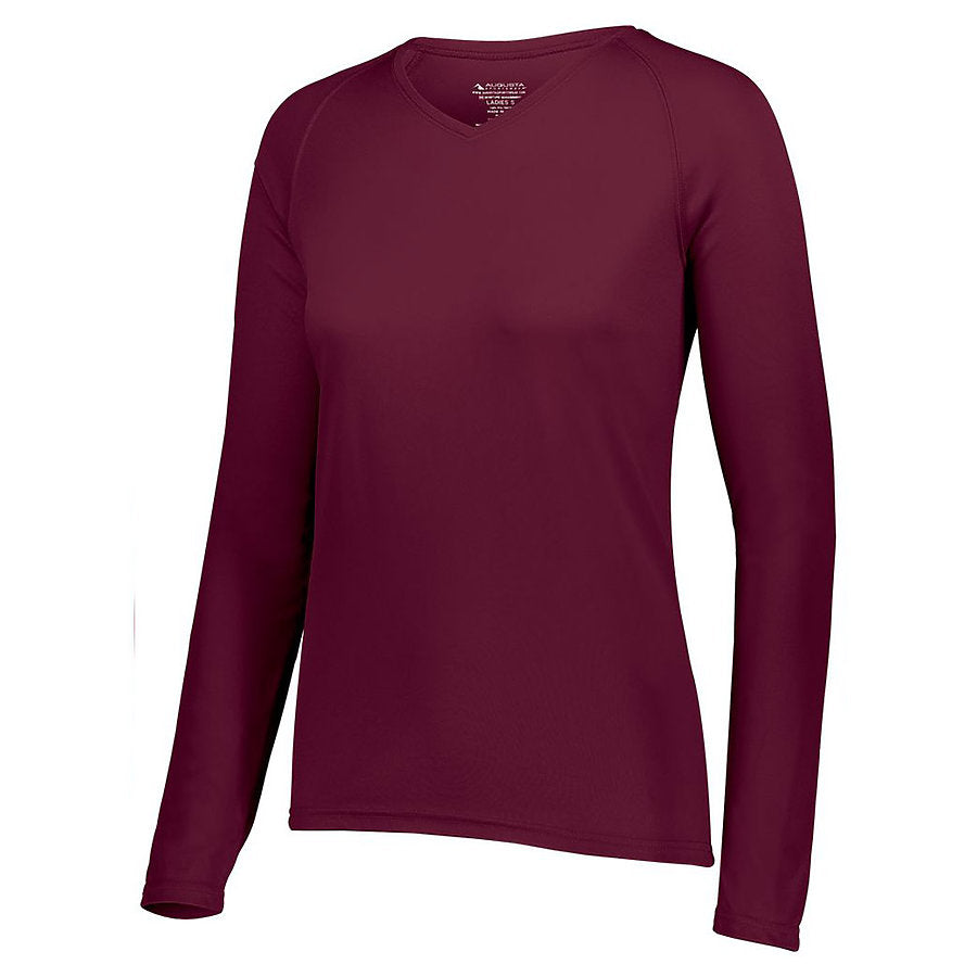 Product image of HMN Augusta 2797 - LADIES ATTAIN WICKING LS SHIRT