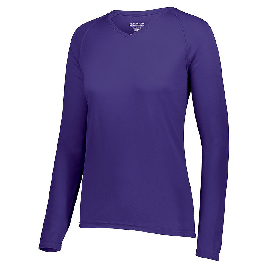 Product image of HPU Augusta 2797 - LADIES ATTAIN WICKING LS SHIRT