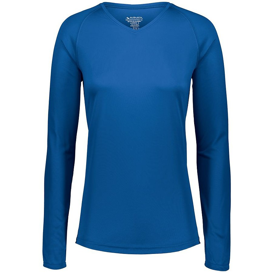 Product image of ROYAL Augusta 2797 - LADIES ATTAIN WICKING LS SHIRT