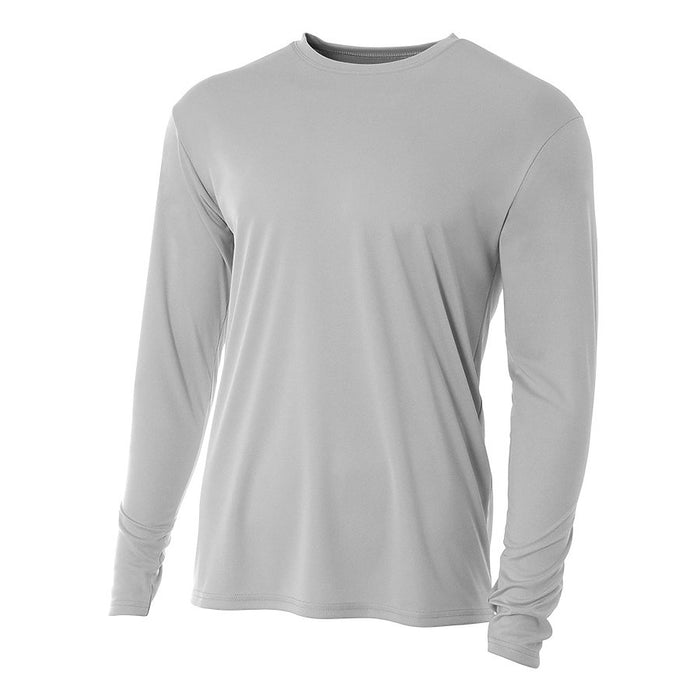 Product image of Silver 2011 A4 N3165 - Cooling Performance Long Sleeve Crew