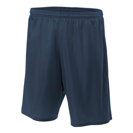 Product image of Navy A4 N5296 - Lined Tricot Mesh Short