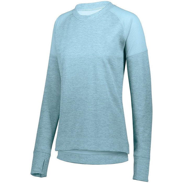 Product image of Aqua Augusta 5575 -LDS ZOE TONAL HEATHER PULLOVER