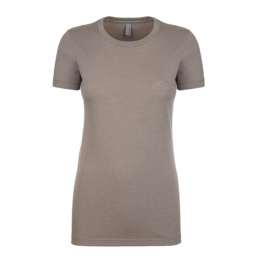 Product image of Stone Gray Next Level Apparel 6610 - Ladies CVC Tee
