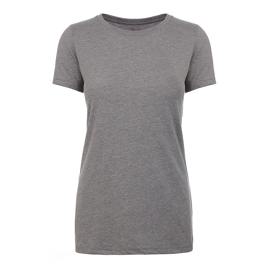 Product image of Dk Heather Gray Next Level Apparel 6610 - Ladies CVC Tee