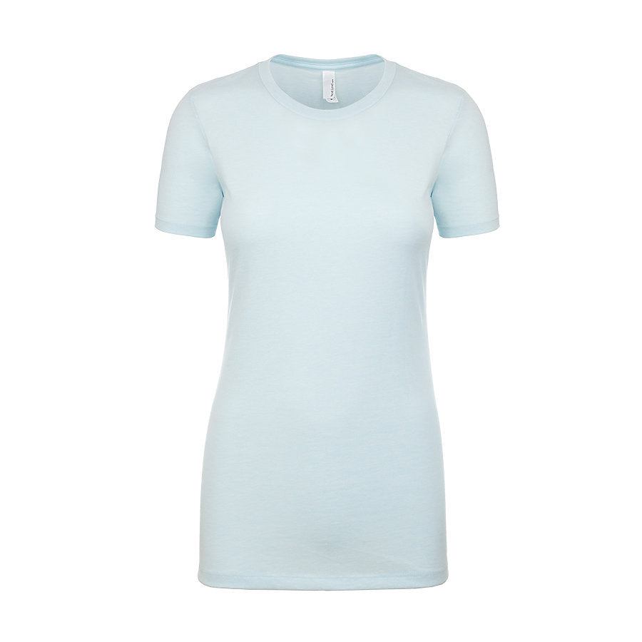 Product image of Ice Blue Next Level Apparel 6610 - Ladies CVC Tee