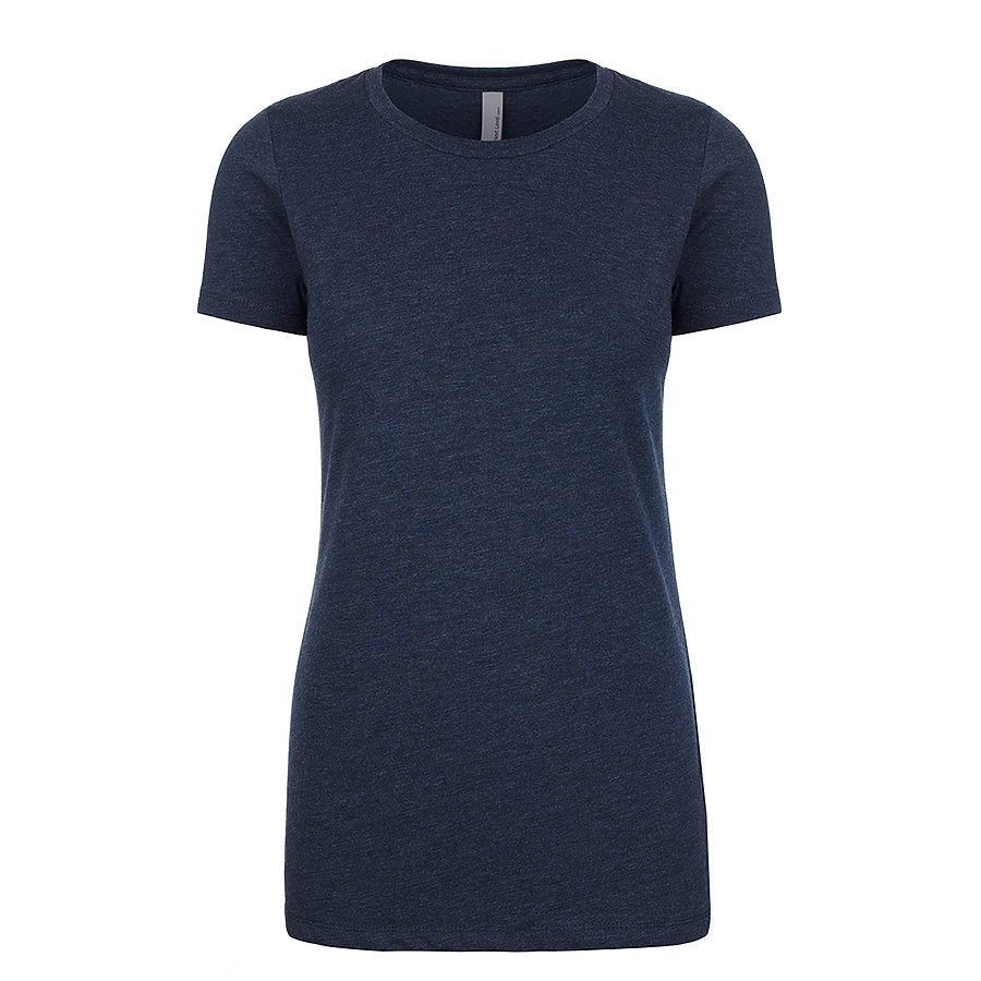 Product image of Midnight Navy Next Level Apparel 6610 - Ladies CVC Tee