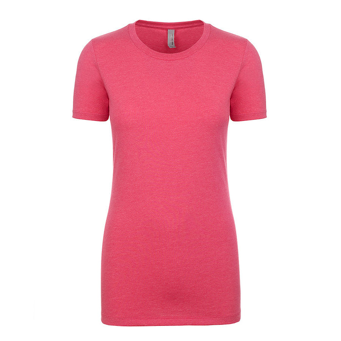 Product image of Raspberry Next Level Apparel 6610 - Ladies CVC Tee