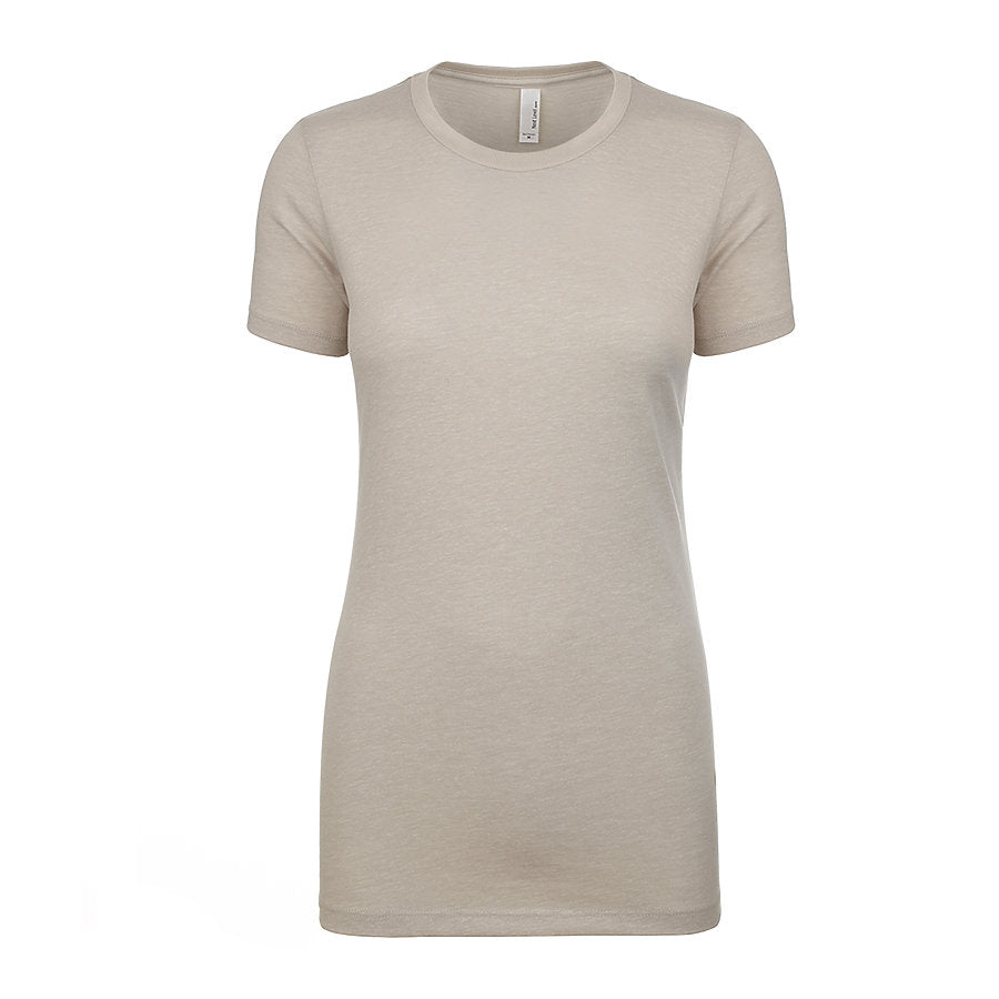 Product image of Sand Next Level Apparel 6610 - Ladies CVC Tee
