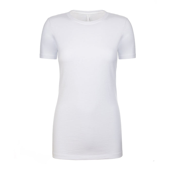 Product image of White Next Level Apparel 6610 - Ladies CVC Tee