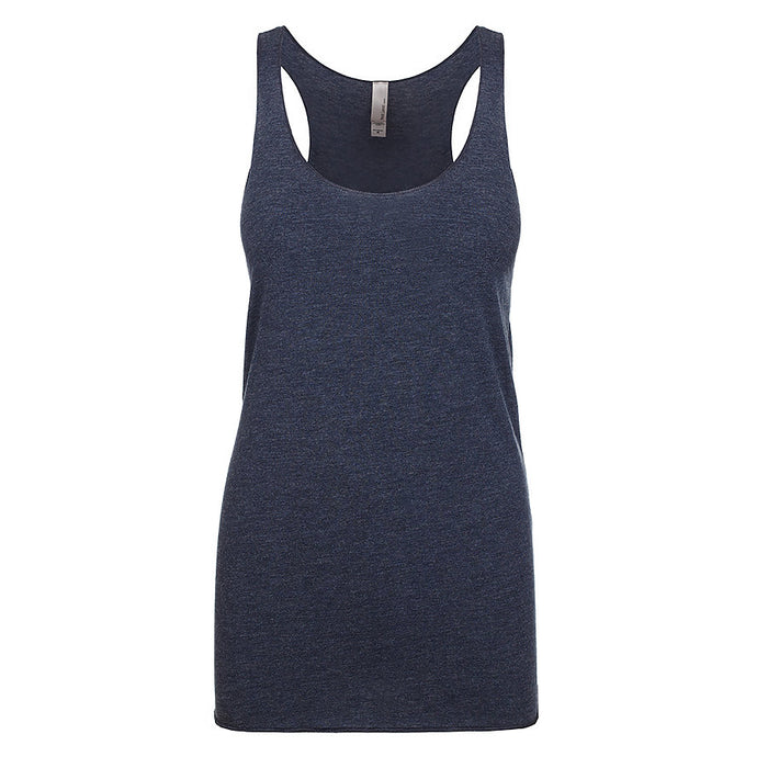 Product image of Vintage Navy Next Level Apparel 6733 - Tri Racerback Tank