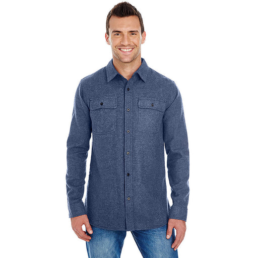 Product image of Denim Burnside B8200 - Men's Solid Flannel Shirt