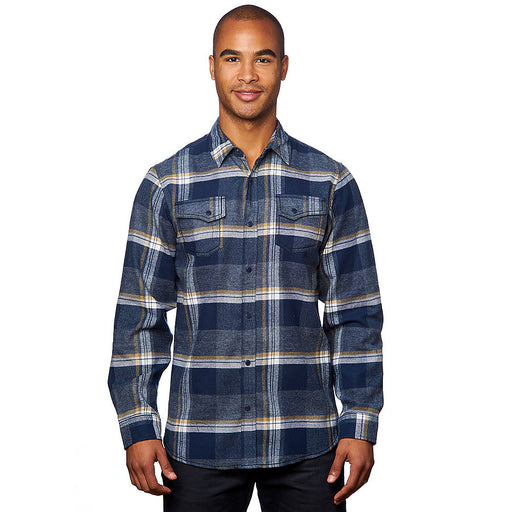 Product image of Indigo Burnside B8219 - Men's Snap Button Flannel