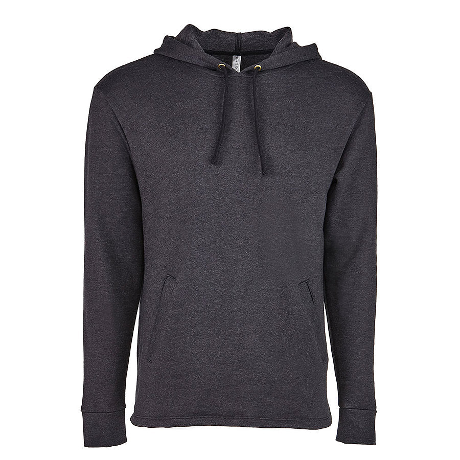 Product image of Heather Black Next Level Apparel 9300 - Hooded Pullover