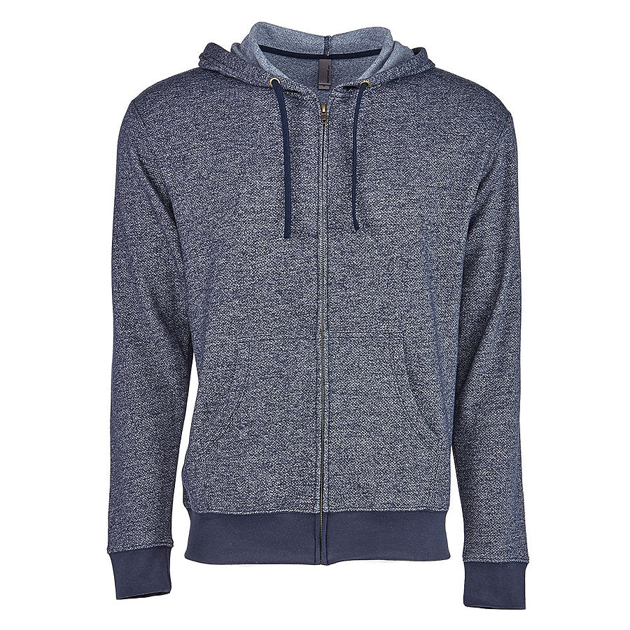 Product image of Navy Next Level Apparel 9600 - Denim Hooded Zip