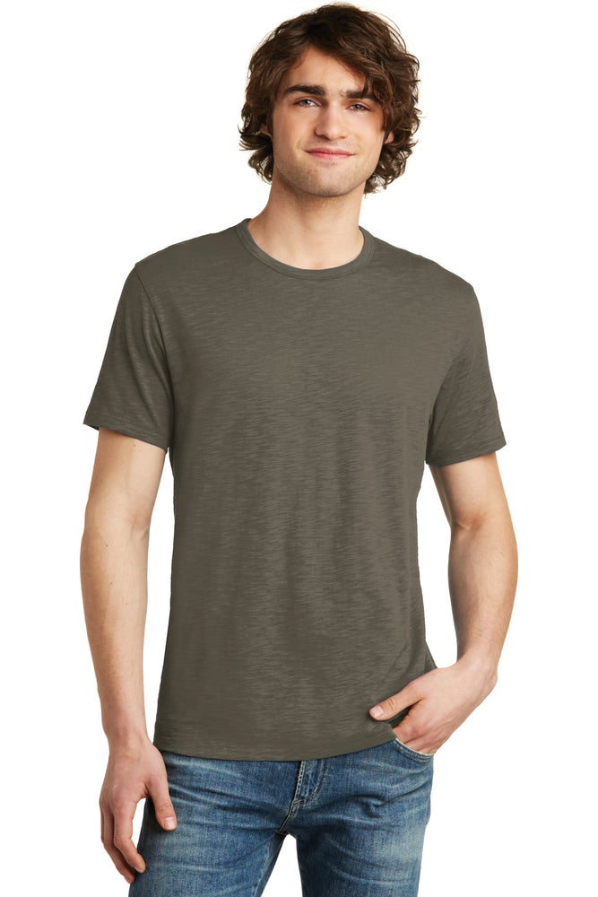 Alternative Weathered Slub Tee. AA6094 (Dark Olive)