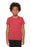 BELLA+CANVAS ® Youth Jersey Short Sleeve Tee. BC3001Y (Heather Red)