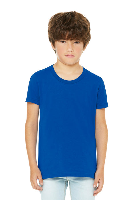BELLA+CANVAS ® Youth Jersey Short Sleeve Tee. BC3001Y (True Royal)