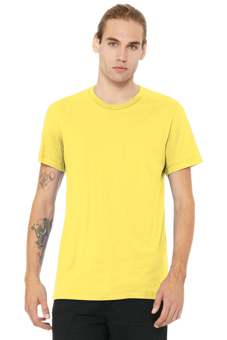 BELLA+CANVAS ® Unisex Jersey Short Sleeve Tee. BC3001 (Yellow)