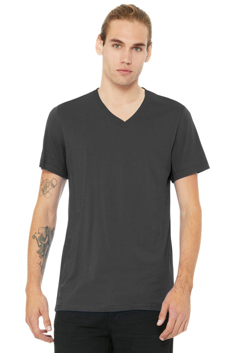 BELLA+CANVAS ® Unisex Jersey Short Sleeve V-Neck Tee. BC3005 (Asphalt)
