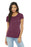 BELLA+CANVAS ® Women's Triblend Short Sleeve Tee. BC8413 (Maroon Triblend)