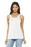 BELLA+CANVAS ® Women's Flowy Racerback Tank. BC8800 (White)
