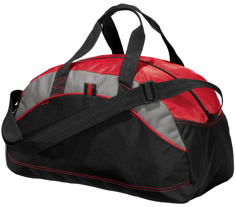 Port Authority® - Small Contrast Duffel. BG1060 (Red)