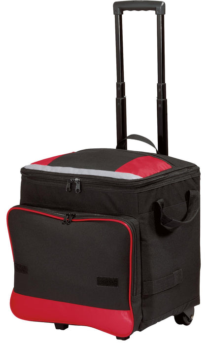Port Authority® Rolling Cooler. BG119 (Red)