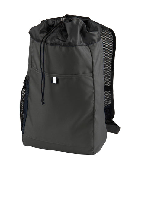 Port Authority ® Hybrid Backpack. BG211 (Dark Charcoal/Black)