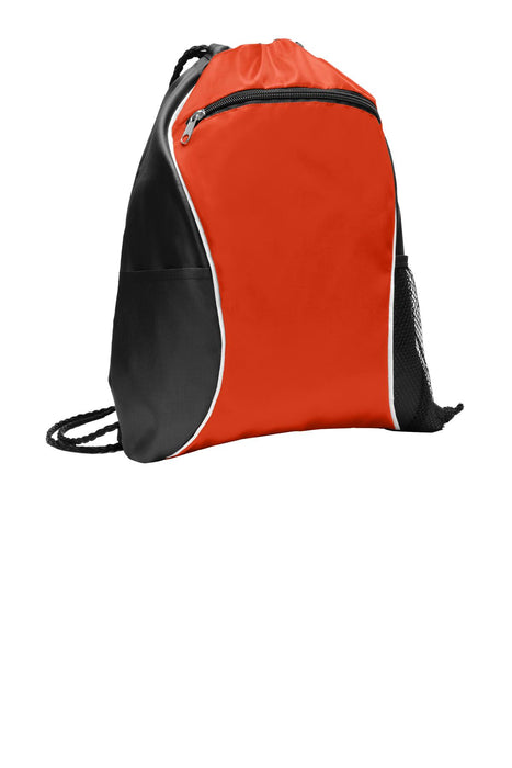 Port Authority® Fast Break Cinch Pack. BG613 (Pop Orange)