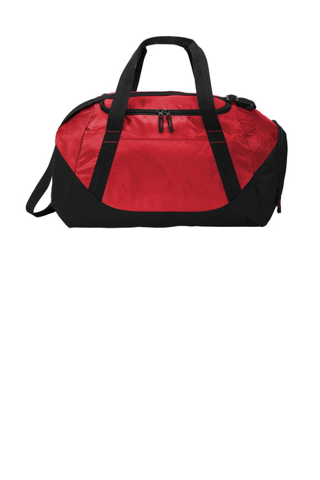 Port Authority ® Team Duffel  BG804 (True Red/Black)