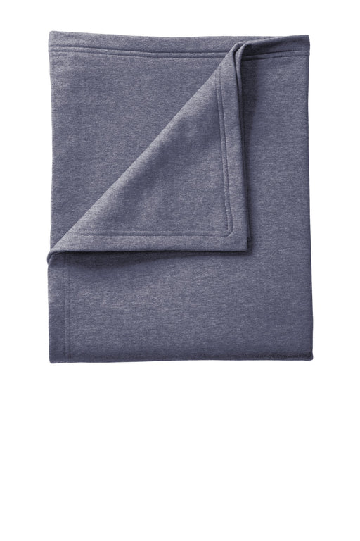 Port & Company® Core Fleece Sweatshirt Blanket. BP78 (Heather Navy)