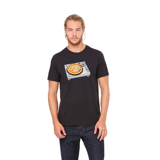 DJ Scratch Pizza Graphic Tee