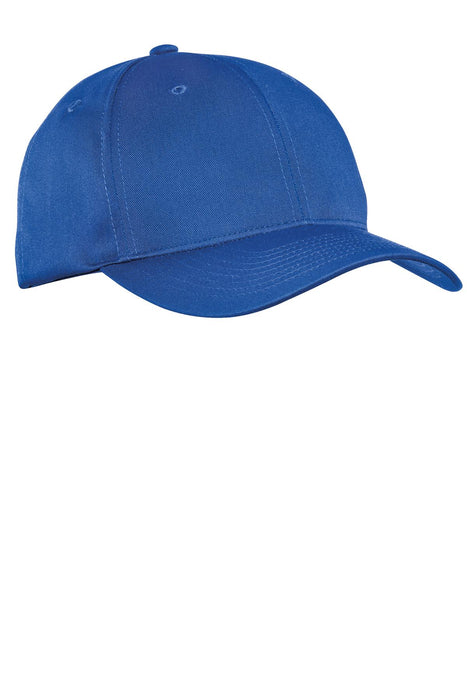 Port Authority® Fine Twill Cap.  C800 (Royal)