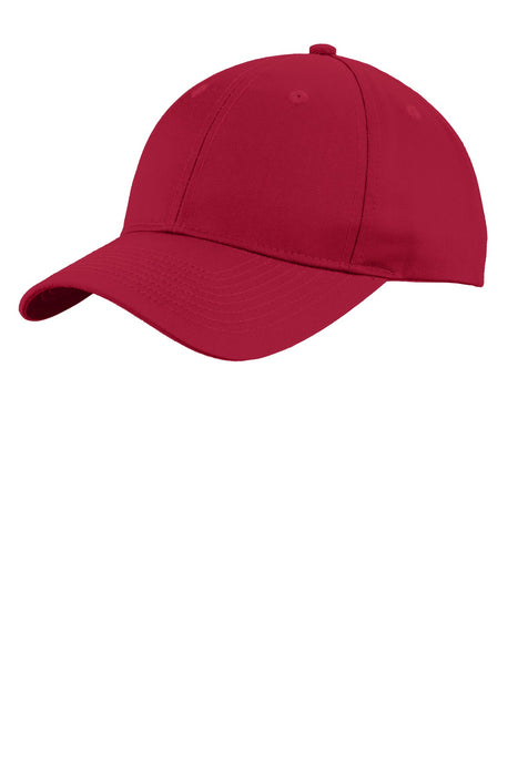 Port Authority® Uniforming Twill Cap. C913 (Red)