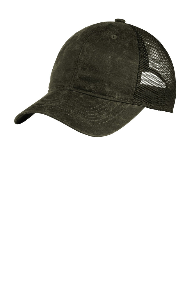 Port Authority ® Pigment Print Mesh Back Cap. C927 (Olive)