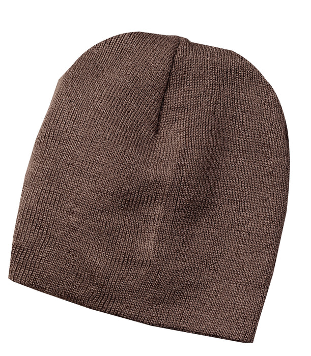 Port & Company®Knit Skull Cap.  CP94 (Brown)