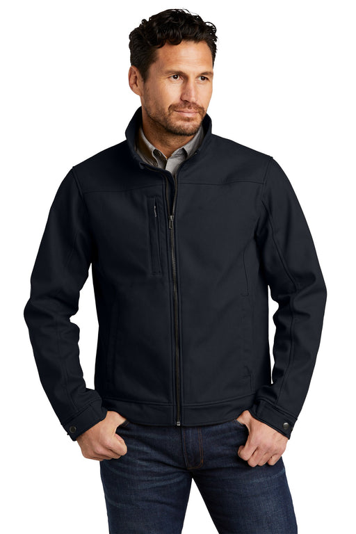 CornerStone® Duck Bonded Soft Shell Jacket CSJ60 (Navy Blue)
