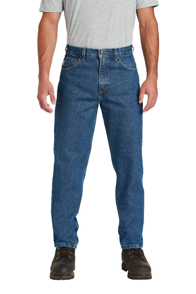 Carhartt ® Relaxed-Fit Tapered-Leg Jean . CTB17 (Darkstone)