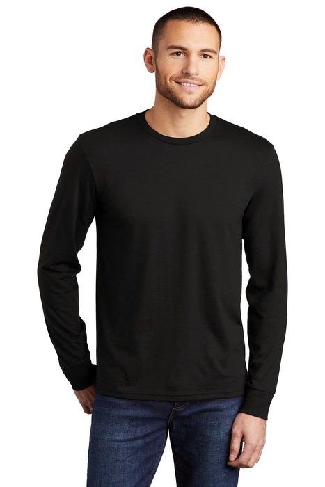 District® Perfect Tri® Long Sleeve Tee . DM132 (Black)