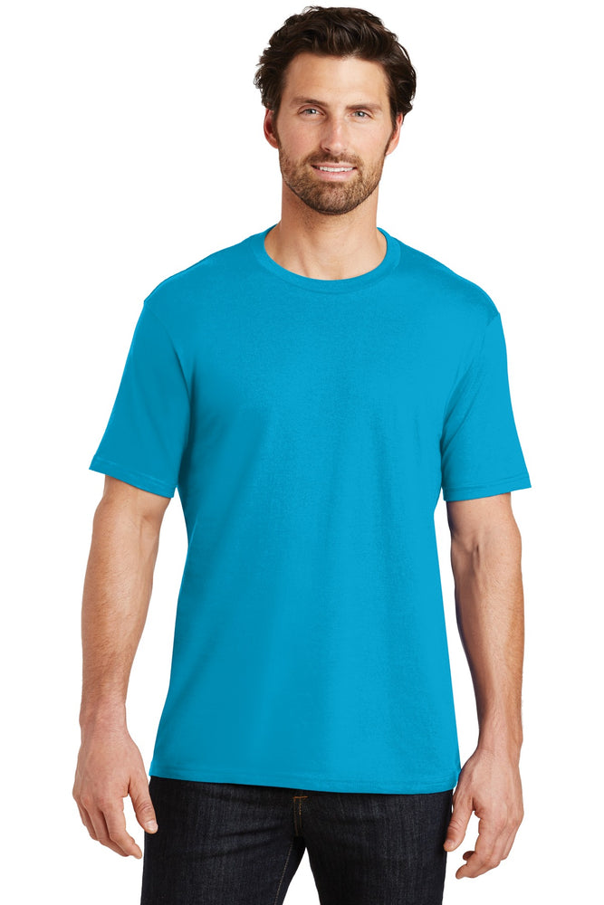 District® Perfect Weight®Tee. DT104 (Bright Turquoise)