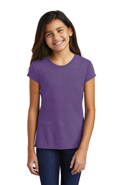 District ® Girls Perfect Tri ® Tee DT130YG (Purple Frost)