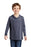 District ® Youth Perfect Tri ® Long Sleeve Hoodie DT139Y (Navy Frost)