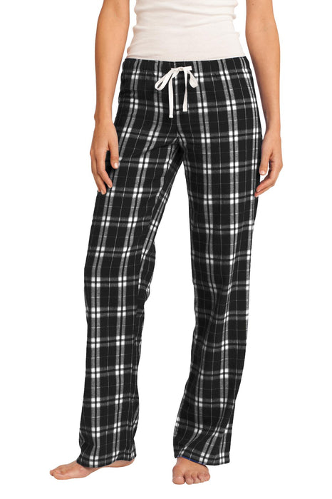 District® Women's Flannel Plaid Pant. DT2800 (Black)