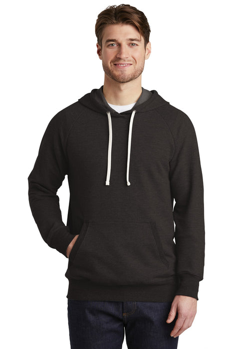 District ® Perfect Tri ® French Terry Hoodie. DT355 (Black)