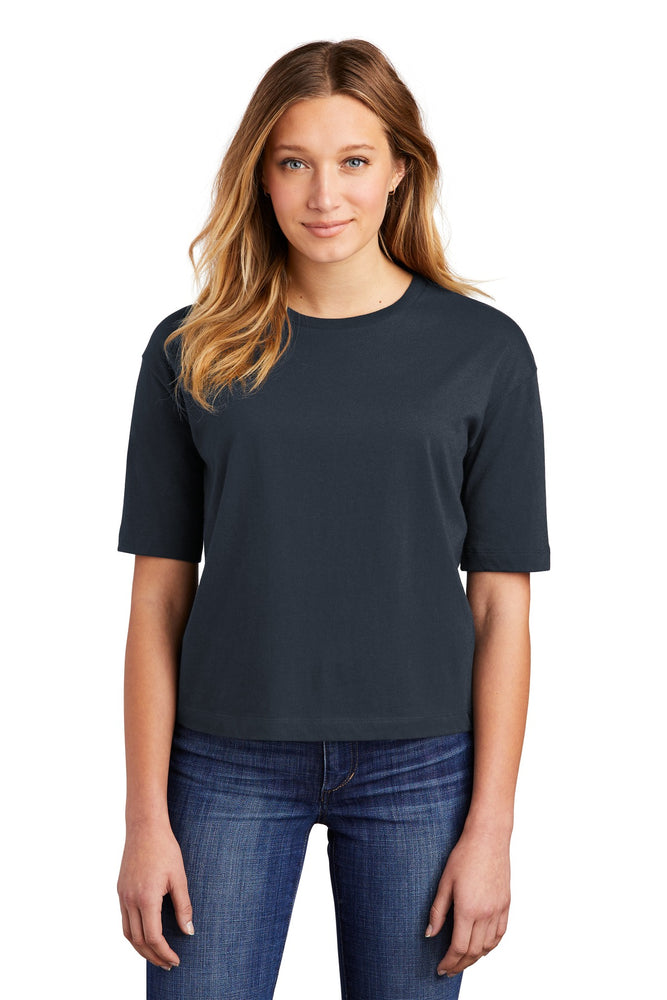 District ® Women's V.I.T. ™ Boxy Tee DT6402 (New Navy)