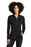 Eddie Bauer ® Ladies Smooth Fleece Base Layer Full-Zip. EB247 (Black)