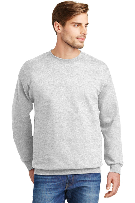 Hanes® Ultimate Cotton® - Crewneck Sweatshirt.  F260 (Ash)
